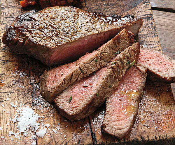 Halal Standard Grade Beef Strip  ~10 lb