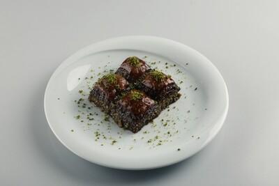 Moda Baklava Chocolate Baklava with Pistachios 6.5 lbs