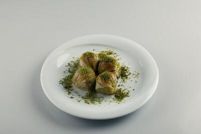 Moda Baklava Midye Baklava with Pistachios 6.5 lbs