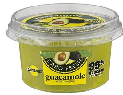 Guacamole Cabo Fresh Classic Mild  %95 avocado 12 oz