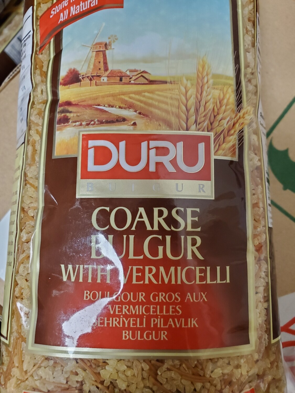 Duru Coarse Bulgur with vermicelli 1kg