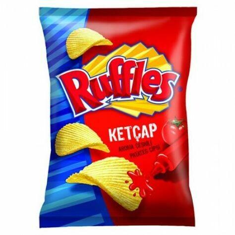 Ruffles Ketcap 107gr (Halal)