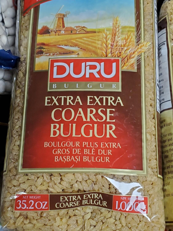 Duru extra extra Coarse Bulgur (basbasi bulgur) 1kg Başbaşı Bulgur