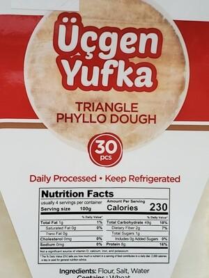 Moda triangle phyllo dough daily pastry leaves 30 pcs