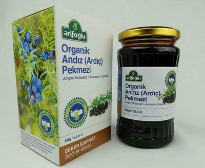 Arifoglu Organic Juniper (Andiz Pekmezi) Molasses 400gr Pekmez
