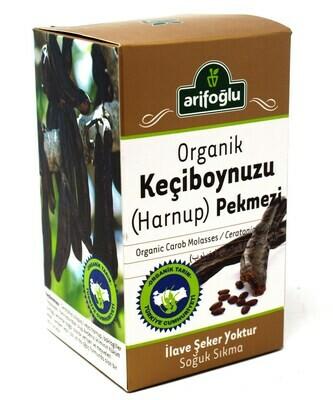 Arifoglu Organic Carob (Keciboynuzu Harnup) Molasses 400gr pekmez