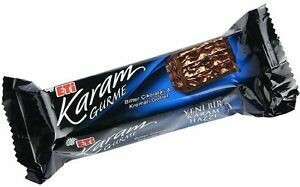 ETI Karam ADICTO Gurme wafer with dark chocolate bar 50gr