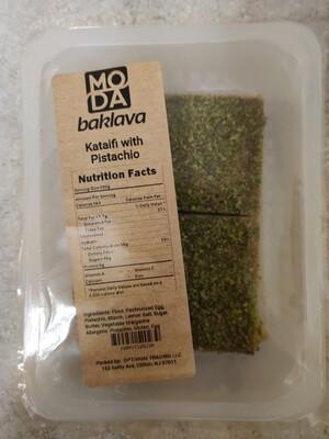 Moda baklava kataifi with pistachio 12oz (2 pieces)