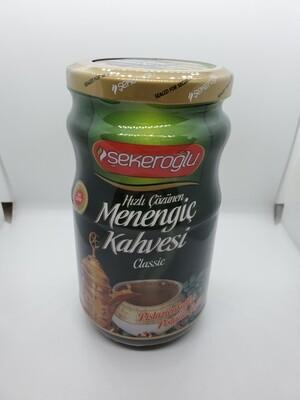 Sekeroglu Menengic kahvesi 350gr glass ( pistachio coffee)