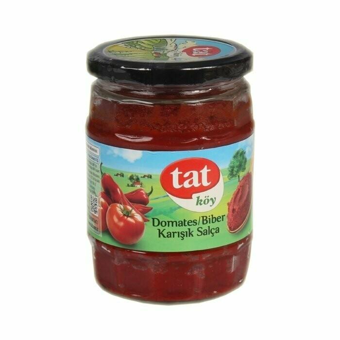 Tat Koy Usulu village-style Tomato and Pepper paste 580cc