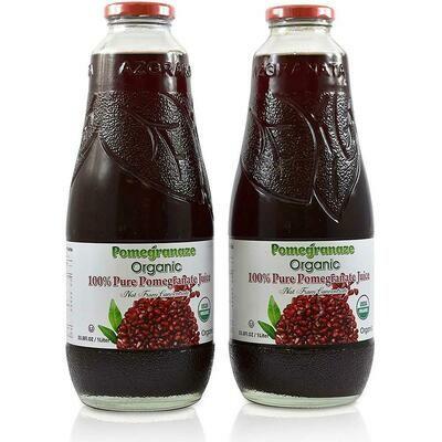 Organic Pomegranate Juice 1 lt Glass