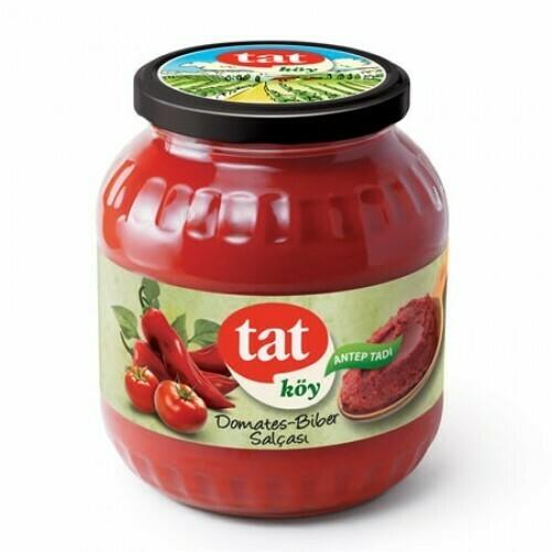 Tat koy usulu  tomatoes and peppers mixed paste 1700gr. Antep usulü karisik salca
