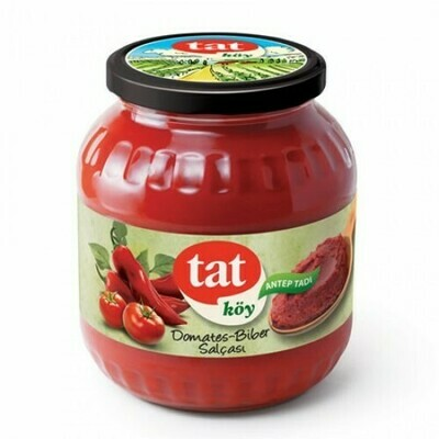 Tat koy usulu  tomatoes and peppers mixed paste 1700gr. Antep usulü karisik salca