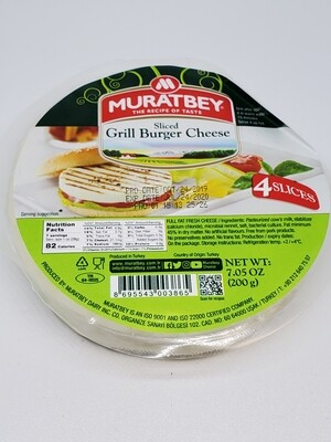 Muratbey Sliced Grill Cheese 200gr 4 slices