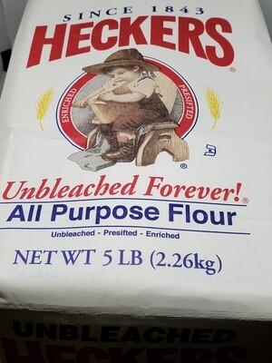 Heckers All Purpose flour 5 lb
