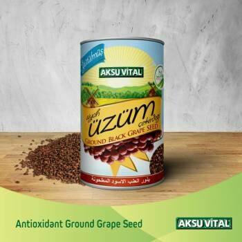 Aksu Vital Ground Black Grape Seeds 250gr