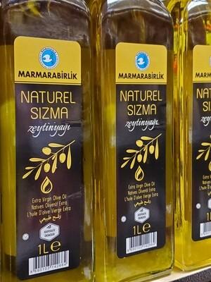 Marmara Birlik Naturel Sizma olive oil 1000ml Glass