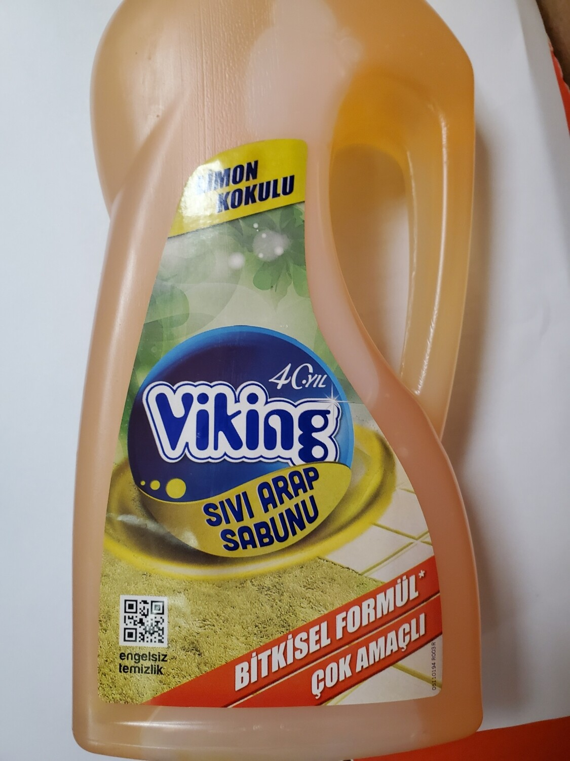 Viking Cleaning Soap Sivi Arap Sabunu with Lemon Sabun 750gr
