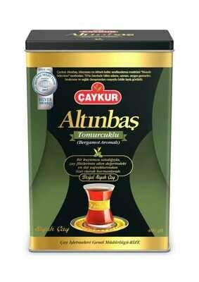 CAYKUR ALTINBAS EARL GREY TEA (BERGAMOTLU) CAN 400GR