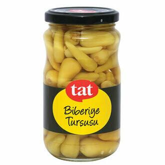 Tat Biberiye Turşusu Peppers Pickles Isot 350gr
