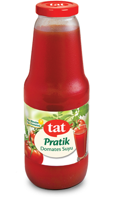 Tat Tomato Juice  1lt Glass