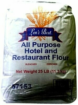 Len'z Best All Purpose Flour, 25 Pound
