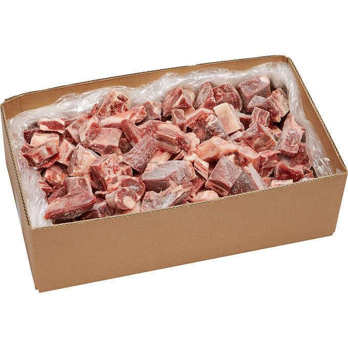 HALAL Goat Cubes ~ 15 lb