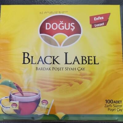 Dogus Black Label tea bag 100 pcs