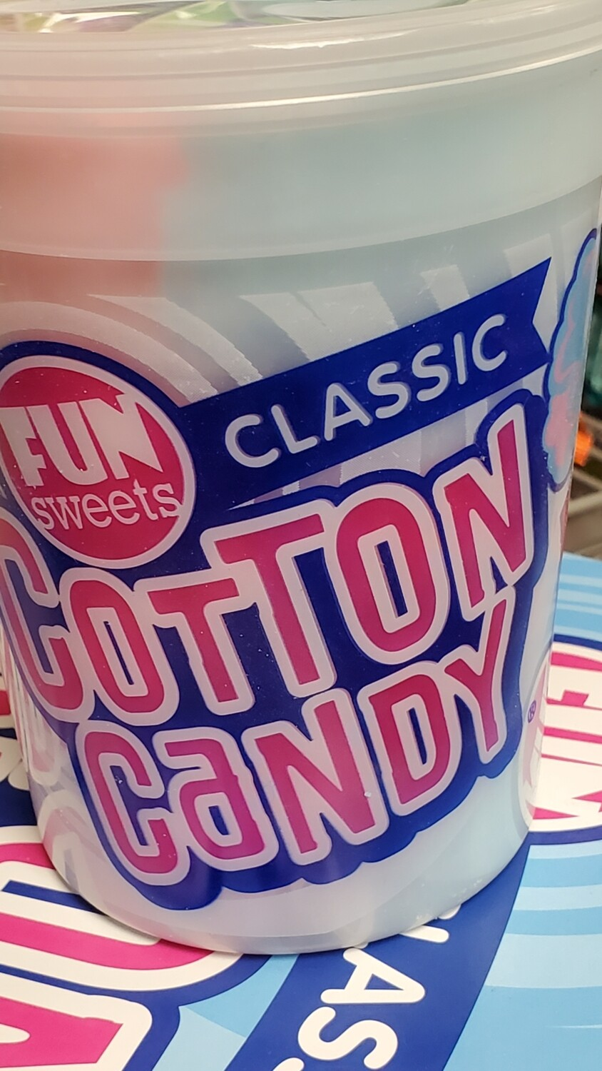 Cotton candy fun sweet 2oz