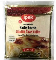 Ipek gunluk taze yufka daily pastry leaves 1kg