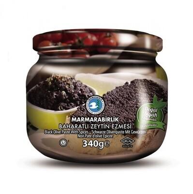 Marmara Birlik Black Olive Paste with Spices 340gr