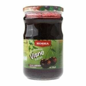 Koska Sour cherry Preserves Jam (Visne Receli ) 380gr
