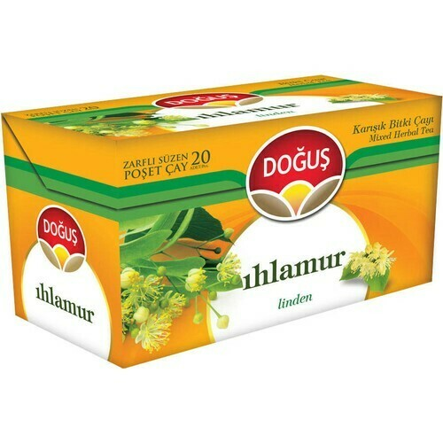 Dogus Green Tea Linden (Ihlamur) 26gr