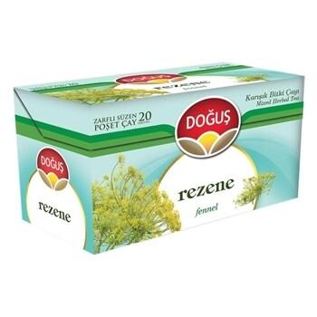 Dogus Green tea with Fennel (Rezene) 40gr