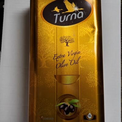 TURNA Extra Virgin Olive Oil from Turkey
