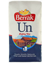 Berrak wheat flour for all-purpose 1kg 2.2lbs