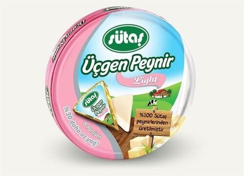 Sutas Light Triangle Cream  Cheese 8x125gr