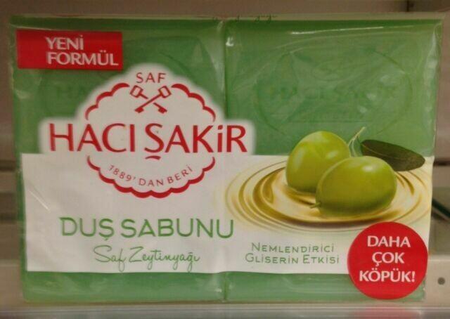 Haci Sakir Bath Soap Glycerin & Olive oil 500gr