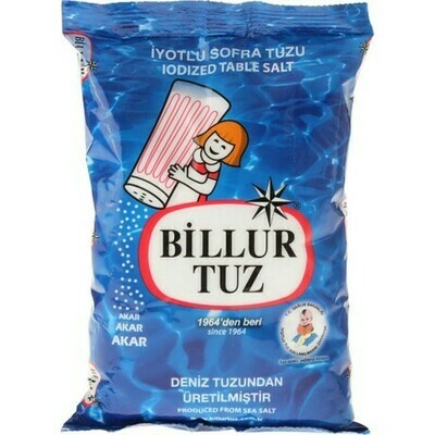 Billur Tuz Iyotlu (Salt iodined 750gr)