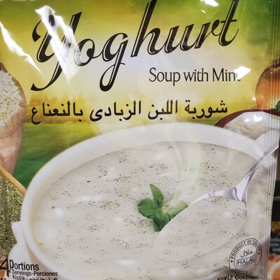 Basak soup with yogurt and mint (Yayla Corbasi) 75GR