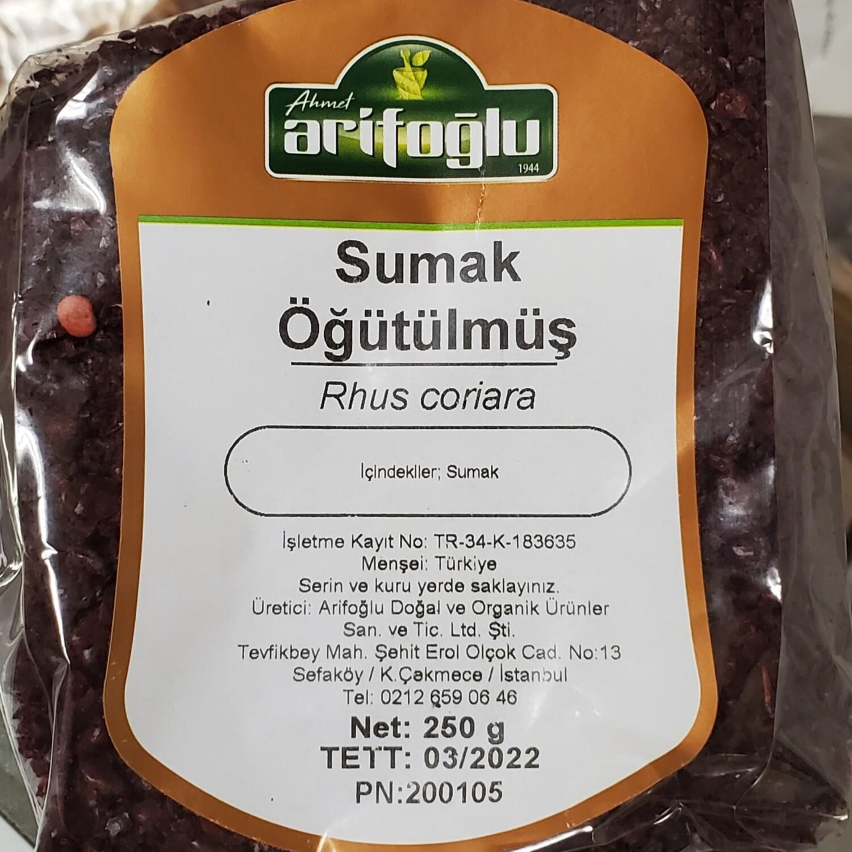Arifoglu ogutulmus rush SUMAC (sumak) 250 gr