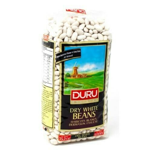 Duru White Kidney Beans Dermason Fasulye 1kg