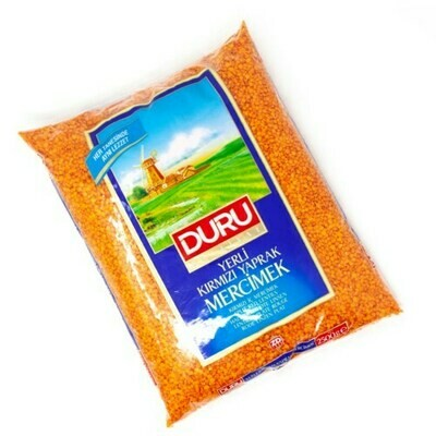 Duru Split Red Lentils 2.5 kg Yerli Mercimek
