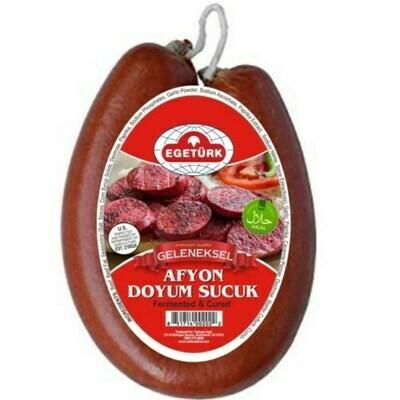 EGETURK AFYON DOYUM SUCUK (1LBS Mild) Halal