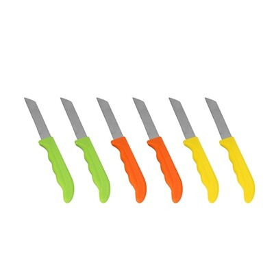 Apricot Norinco 6 Piece Fruit Knife Set by Karaca