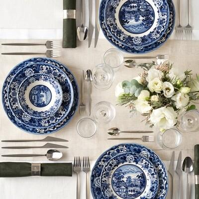 Karaca New Blue Odyssey 6 Person Dinner Set