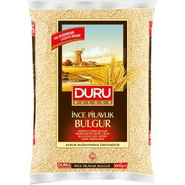 Duru Medium Coarse Bulgur 2.5kg (Midyat Bulguru)
