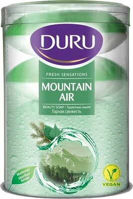 DURU SOAP FRESH SENSATION MOUNTAIN PVC 110Gx4