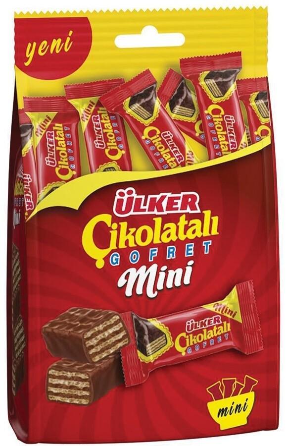 ULKER CHOCOLATE WAFER MINI 82GR