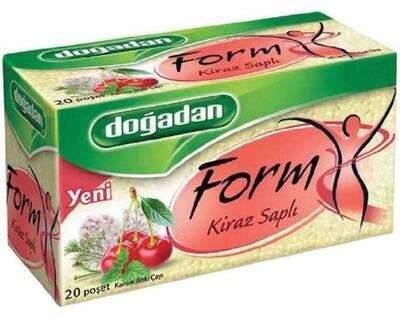 DOGADAN FORM TEA w CHERRY STALKS 20TB